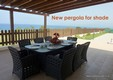 8 4 bedroom Villa Amorosa, Latchi, Polis, Cyprus. New pergola. Sea view