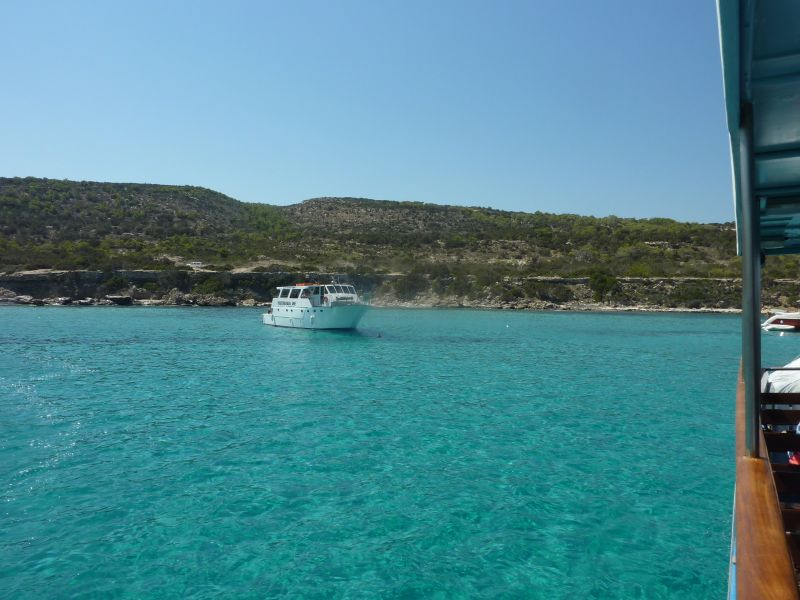 Blue lagoon, Akamas National Park